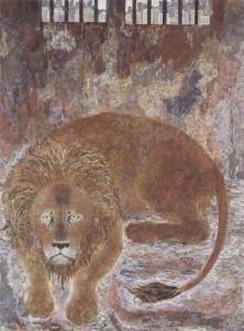 ライオン 1990第22回日展 特選